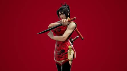 Taki Chinese New Year Dress by DOAPersonafan123