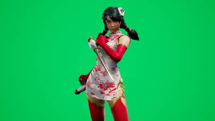 Talim Chinese New Year Dress by DOAPersonafan123