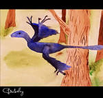 Microraptor by Charlott-A