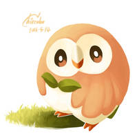 Rowlet by chirenbo