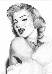 Marilyn Monroe by DonieQ