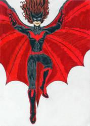 Batwoman by Druce-White-Owl
