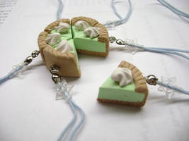 Key Lime Pie Phone Charms by Lord-Ackbar
