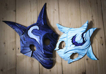 Kindred masks by xAtashix