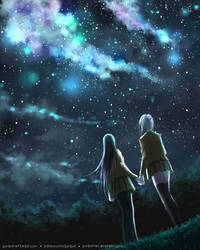 Stargazing by Gumbat-Art