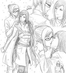 Marimei Sketch Dump 5 by Gumbat-Art