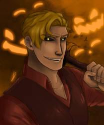 Jacob the Pumpkin Prince by Teescha-Rinn