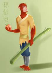 Sun Wukong by Teescha-Rinn