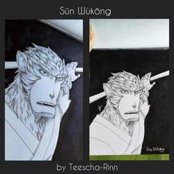 Sun Wukong The Monkeyking by Teescha-Rinn