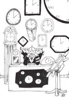 INKTOBER 14 CLOCK by IshraqueAT
