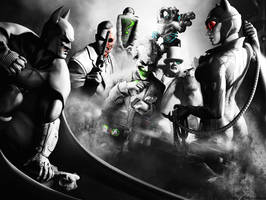 Batman Arkham city wallpaper 2 by ethaclane