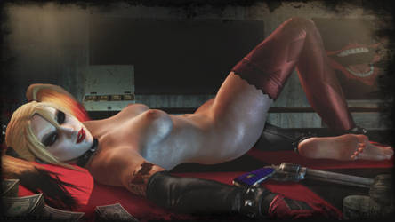 Harley Quinn sexy wallpaper by ethaclane