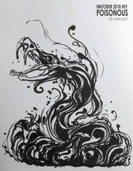 Inktober 01 by Arkarti