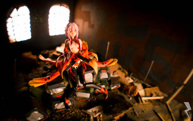 Sole Flower in Ruins by zh3us