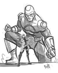 Atomac and Sparrowhawk [EWG] by Robenix