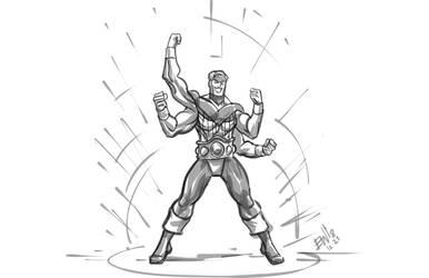 Quadricep: Pumped for Primetime! [EWG] by Robenix