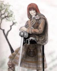 kenshin in kilt by kokoronagomu