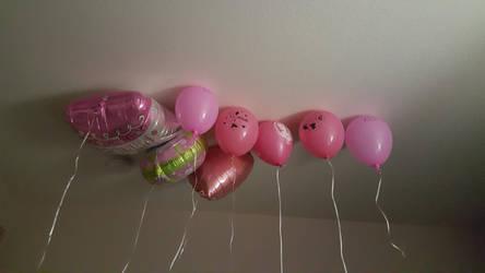 Balloon Bouquet by PinkestBalloon