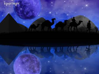 Egypt Night by urbanAR7