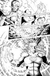 Green Lantern Page 5 by TheInkPages