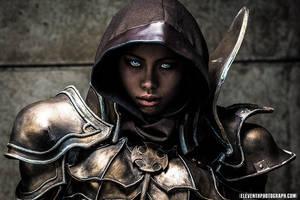 Diablo III: Demon Hunter by Poodoki
