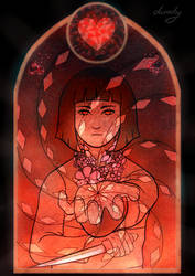 Stained Glass - Chara by dazedog