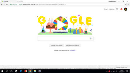 It's Google's 19th Birthday by AgentEliteFirey