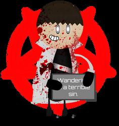 Wandering is a terrible sin. by AgentEliteFirey