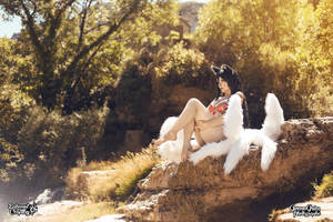 Ahri PoolParty cosplay by Bahamut95