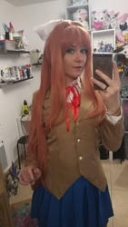Monika cosplay ! by Bahamut95