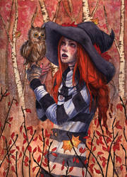 Autumn Witch by AmandaRamsey