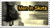 Men In Skirts Stamp by Jhas777