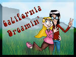 Hippie AU- California Dreamin' by AWildFangirlAppeared