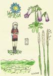 Zoi's Field Guide to Tenari Flora and Fauna Pt 1 by Brijeka