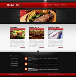 Olimpique web-site by BrunoLollato