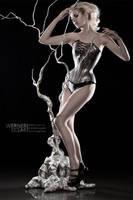 Silvery Seduction by WernerEdgar