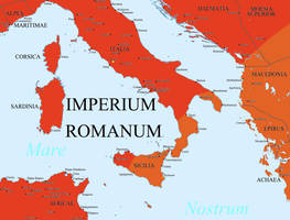 The Roman Empire by Hillfighter