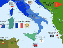 Napoleonic Italy by Hillfighter