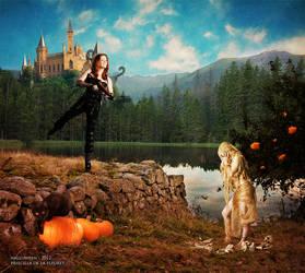 Halloween by PriscillaSantanaArts