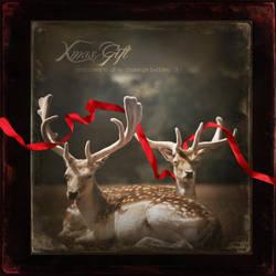 Xmas Gift :3 by PriscillaSantanaArts