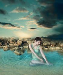 Evening Sunbath by PriscillaSantanaArts