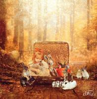 In my room, any dream came true. by PriscillaSantanaArts