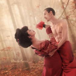 Dance of Love by PriscillaSantanaArts