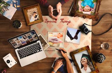Special Things by PriscillaSantanaArts