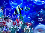 New on Coral Reef by PriscillaSantanaArts