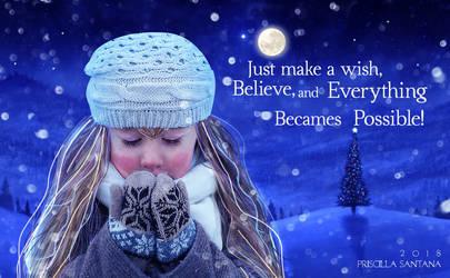 Wish by PriscillaSantanaArts