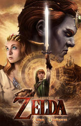 Live Action Zelda Poster: Rising Darkness by IsaacJLitman