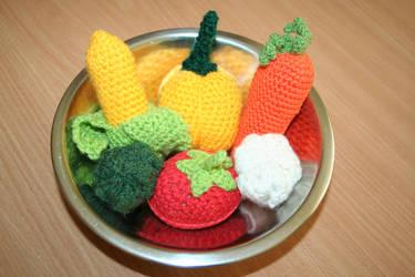 Vegetables by Sela01