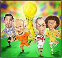 WorldCup 2014 Semi finals by canerator