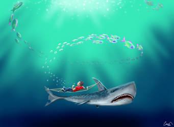 Shark hammock by canerator